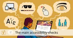 The main accessibility checks - KCG - SEO, Web Design & Internet Domination Web Accessibility, Learning Disabilities, Work Inspiration, What You Can Do, Seo, Maine, Web Design, Website, Tags