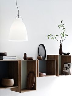 Wood shelf boxes