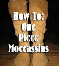 Moccasins How To Make One-Piece Moccasins How To Make Moccasins, How To Make Shoes, Native American Moccasins, Native American Clothing, Beaded Moccasins, Diy Leather Moccasins, Moccasins Pattern, Baby Moccasin Pattern, How To Make Leather