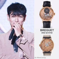 TOP wore Breguet tradition watch during Chongqing Fanmeeting and other events earlier this year. Such elegance! #TOPstyle #TOP #choiseunghyun #bgbang10 #bigbang #breguet #최승현 #빅뱅 #chongqing #fanmeeting