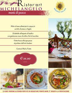 Ristor'Art Michelagielo in collaborazione con #HolidayVillage prone deliziose #ricette a base di pesce e prodotti locali a due passi dal #mare