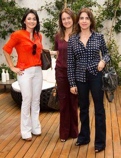 Patricia Lamana, Ana Paula Daher e Elisa Cecilio