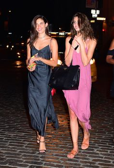 The Real Regina George - runwayandbeauty:   Sara Sampaio & Taylor Marie...