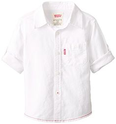 Levi's Baby-Boys Infant Cotton Long Sleeve One Pocket Shirt, White, 24 Months Levi's http://www.amazon.com/dp/B0091YW4RS/ref=cm_sw_r_pi_dp_zSD3ub1W2FKDE