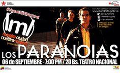 hoy Los Paranoia en el teatro nacional