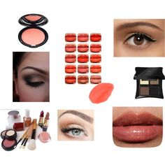 """Deep Autumn Natural Makeup"" by alejaradi on Polyvore"