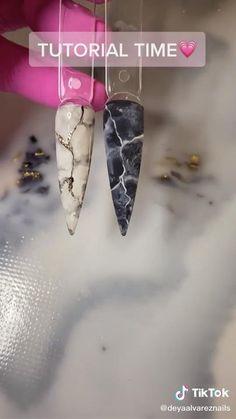 Diy Acrylic Nails, Acrylic Nail Designs, Gel Nails, Pink Nails, Simple Nail Art Videos, Nail Art Designs Videos, Nagellack Design, Nagellack Trends, Nail Art Hacks