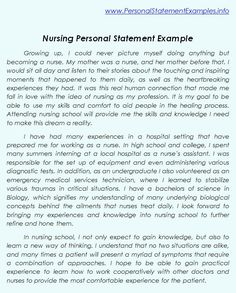 why i want to be a nurse essay admission