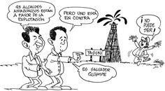 Alcaldes amazónicos a favor de explotar el Yasuní. Solo falta Salvador Quishpe - Asdrúbal