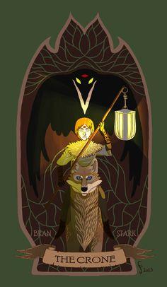 Bran Stark - the Crone by *Kisindian on deviantART
