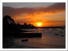 Un soir à Port-Navalo - Arzon, Bretagne