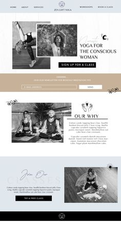 I love this cool tone web design for a local Yoga studio. We went with a simple . - I love this cool tone web design for a local Yoga studio. We went with a simple clean line logo, an - Web Design Trends, Design Web, Layout Design, Web Design Tutorial, Clean Web Design, Online Web Design, Simple Web Design, Web Design Studio, Design Food