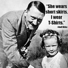 Taylor Swift and Adolph Hitler's meme-based offspring. www.reddit.com/r/taydolph