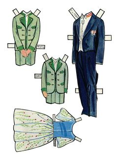 Sound of Music paper doll clothes / picasweb.google.com