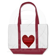 Red Equality Heart bags