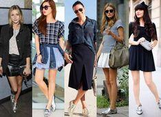 Aprenda a usar sapatos Oxford Feminino prata!