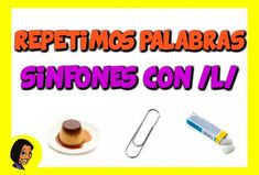 REPETIMOS PALABRAS SINFONES L_WEB Convenience Store, Dyslexia, Speech Language Therapy, Therapy, Words, Convinience Store