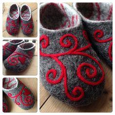 Felt Shoes, Baby Shoes, Wet Felting, Needle Felting, Shibori, Felted Slippers Pattern, Knitting Patterns, Crochet Patterns, Bra Hacks