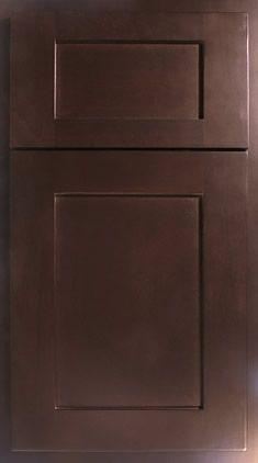 Master Bath Cabinet Finish   Espresso (Door Style Not Shown)