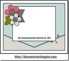 Birthday Wishes–Deconstructed Sketch Sponsored by MFT