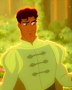 You would be lying if you said that Prince Naveen wasn't one of the most hottest Disney princes made. Even his personality is adorable! Images Disney, Walt Disney Pictures, Pixar, Disney Men, Disney Magic, Disney Films, Disney And Dreamworks, Tiana And Naveen, Disney Princess Tiana