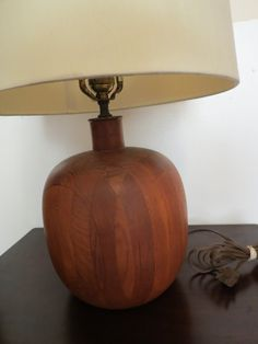 Vintage Mid Century Danish Modern Lamp