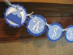Cinderella Themed Name/ Birthday Banner by cutnpaper on Etsy, $16.00