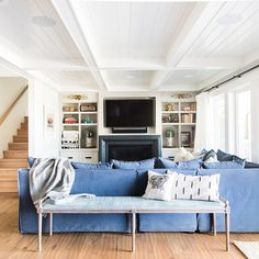 """Home Tour Series: Rumpus Room Co-host of HGTV Canada's Love It or List It Vancouver"""" & Former Bachelorette, Jillian Harris, shares the details of her Rumpus Room! Basement Renovations, Home Renovation, Home Remodeling, Basement Walls, Basement Bedrooms, Basement Ideas, Walkout Basement, Basement Bathroom, Basement Furniture"""