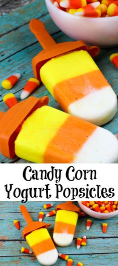 Candy Corn Yogurt Po