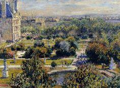 Les Tuileries (1876), Claude Monet (PD-US)