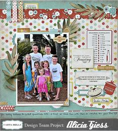 How to use a themed collection for something else. By designer Alicia Giess. #cartabellapaper #homemadewithlove
