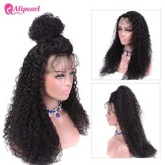 Human Hair Lace Wigs Alipearl Hair Straight Lace Front Human Hair Wigs For Black Women 99j Brazilian Virgin Hair Wigs Pre Plucked 150% 180% Density