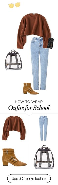 """Untitled #972"" by beauty-lays-within on Polyvore featuring Miss Selfridge, Uniqlo, Tabitha Simmons, OtterBox, Betsey Johnson, casualoutfit and 2017"