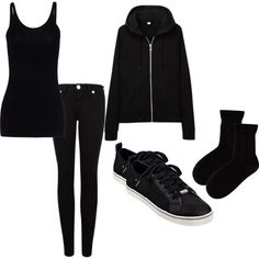 """""""Not Goth... Just A Backstage Badger"""" by m-j-t-99 on Polyvore"""