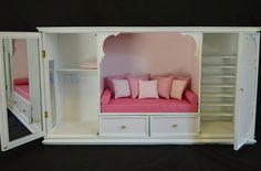 Regent Miniatures 1/6 Scale Nook Bed | Flickr - Photo Sharing!