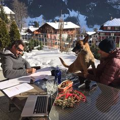 Outdoor office - working on the new website. #web #outside #work #creation #grindelwald #glacier #drawing #www
