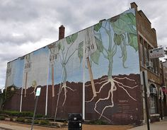 """""""Rebirth"""" mural downtown on S. Main St."""
