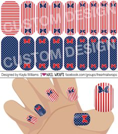 4th of July Patriotic Disney Jamberry NAS Nail Wrap Design. Why bother with nail art designs and polish when Jamberry nail wraps are so much easier? Get the pretty nails you've always wanted for a fraction of the cost of a salon visit. #iheartnailwraps #nailart #naildesigns #jamberry #jamberrynas #jamicure #nails #4thofjulynails #patrioticnails #disneynails