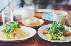 * いつかのランチ * #sony #sonya7 #sonyalpha #a7 #vscocam #vscofood #instafood #foodpic #cafe #lunch #アメツチ