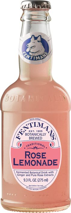 Fentimans Rose Lemonade: Made with the juice of real lemons and pure Rose Otto oil from the world famous Rose Valley in Kazanlak, Bulgaria. Delivers a beautifully refreshing taste and aroma.