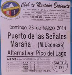 Excursión puertos de las señales Maraña M-Leonesa
