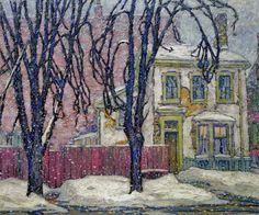 """ SNOWFALL, 1920 ""  Lawren Harris"