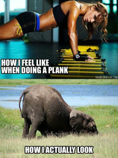 planking... ain't nobody got time for that!