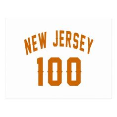 #New Jersey 100 Birthday Designs Postcard - #birthday #gift #present #giftidea #idea #gifts