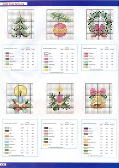 ru / Photo # 13 - Kram z robotkami Spec - tymannost Cross Stitch Christmas Cards, Xmas Cross Stitch, Cross Stitch Cards, Counted Cross Stitch Patterns, Cross Stitch Designs, Cross Stitching, Cross Stitch Embroidery, Christmas Tree Ornaments To Make, Christmas Cross