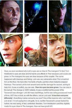 I keep reading this theory and I totally agree with it but it's not canon (right?), so I don't think it will be taken into any sort of consideration by the powers that be.>>it is Canon actually they Confirmed it Loki Marvel, Marvel Jokes, Avengers Memes, Loki Thor, Tom Hiddleston Loki, Marvel Funny, Marvel Dc Comics, Loki Laufeyson, Xavier Rudd