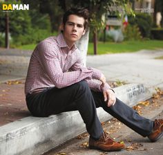 "IN THE COMPANY OF WOLVES. Dylan O'Brien is one of the stars of the new MTV hit series Teen Wolf. He talks to DA MAN about his role on the show, the controversial ""Sterek"" pairup and how selling a joke can be harder than being romantic."