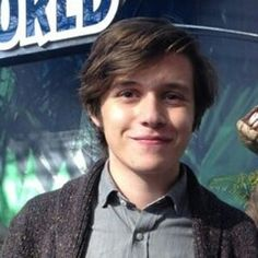Love Nick Robinson and that hair oh my....