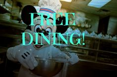 Disney World free dining has been released! Email PlanMagic@hotmail.com or call 302-5mouse6 for your free quote!