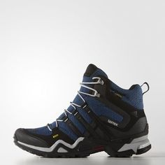 competitive price 58b94 80c1d Terrex Fast X High GTX Shoes - Blue Blue Adidas, Hiking Boots, Gore Tex